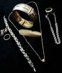 Conjuntos em prata e folheado modelos antigos