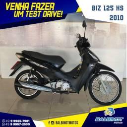 Título do anúncio: Biz 125 KS 2010 Preta