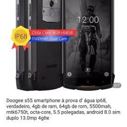 Celular Doogee S55 4 Ram 64 ROM