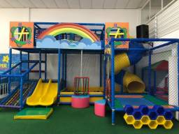 Vendo ou Troco Combo de Casa de Festa Buffet Infantil