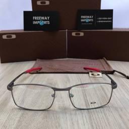 Óculos Oakley Fuller Red armação de alumínio nova
