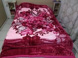 Cobertor novo GG kamamia dupla face 2,30por1,90 grandão
