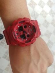 Relógio Casio G Shock GA 100 Vermelho Original aceito trocas comprar usado  Curitiba