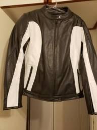 d6c08cc19d1fd NOVA - jaqueta feminina de couro importada p  moto