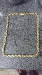 Cordão Cartier banhado a ouro 18kl