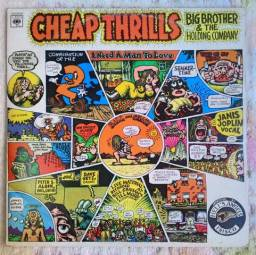 LP Cheap Thrills - Big Brother & The Holding Company