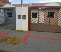 Casa nova no Florais (Floresta), 1 suíte + 1 quarto, financia MCMV