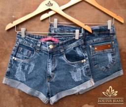 Short Jeans com lycra no atacado!!