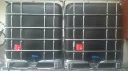 Bombona/cisterna/container/Ibc/caixa/tonel/tambor/tanque/fossa séptica 1000 lts S. Nova