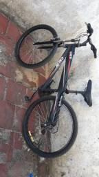 Bicicleta top toda em alumínio