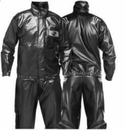 Capa (calça e jaqueta) para motoqueiro/motociclista