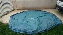 Capa de piscina Intex Semi-nova