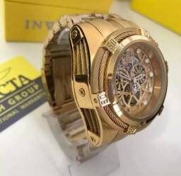 Relógio invicta zeus bolt ekeleton