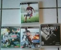Kit com 4 jogos para PS3