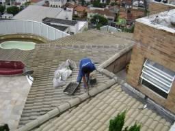 Goteiras em lajes e telhado - Resolva definitivamente ? Impermeabilização