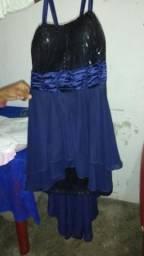 Vestido para festa tm M 50 reais. paguei 85 nele