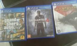 Gta V Uncharted 4 r God of war 3