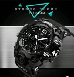 cfe71d9e979 Relógio Masculino games Shock Sport Militar Skmei Super Promoção