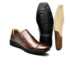 1ae8e1205e Sapato Social Confort em Couro Animal Legítimo - Atacado