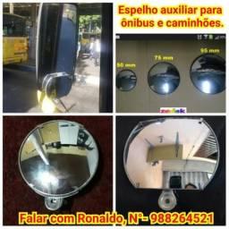 Espelho auxiliar para ônibus e caminhões