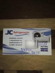 Jc refrigeração instalação,conserto e manutenção
