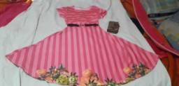 Vendo vestido midi tamanho m