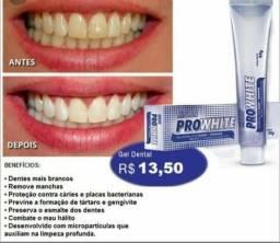 Gel dental clareador