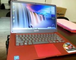 Notebook positivo motion red q232a usado poucas vezes