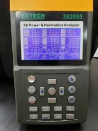 Analisador de Potência e Harmônicas Extech 382095