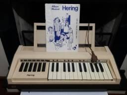 Raridade!!!! Teclado Elétrico Hering PR-5000
