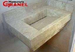 Lavatório de cuba Esculpida!/Marmoraria Granel