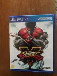 Jogo PS4 street Fighter