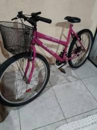 Bike feminina aro 26 18 marchas