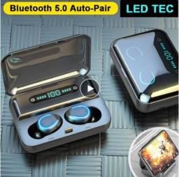 Fone de ouvido Bluetooth TWS a prova dágua