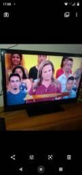 Tv lcd 40p com hdmi e usb sem marcas de uso