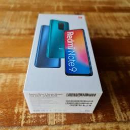 Xiaomi Note 9 128gb lacrado zero aceito cartão/celular como pagto