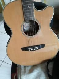 Conjunto violão e guitarra
