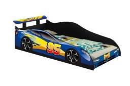 Cama carro 95 azul zap *