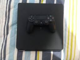 PS4 Slim 1 TB (usado) + CoD: MW e Horizon Zero Dawn