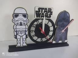 Relógio de mesa star Wars