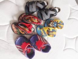 Lotinho sandálias n°18