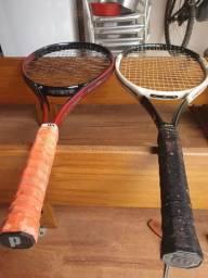 Vendo duas raquete para iniciantes que começar jogar