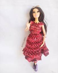 Vestido para Boneca Barbie