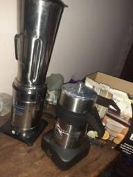 Extrator de suco e liquidificador industrial