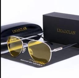 Óculos Amarelo lente de visão noturna -reduz o brilho  - use original