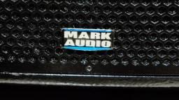 Caixa Ativa Profissional amplificada Mark Audio CA600 Pen Drive SD Card FM