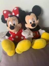 Mickey e Minie Pelúcia Original