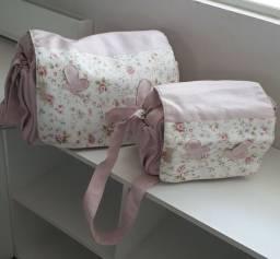 Conjunto de bolsas de maternidade Art Pura c/ 2