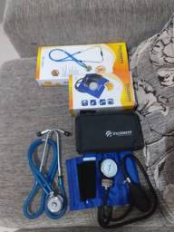 Estetoscópio e Esfigmomanômetro