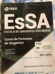 Livro pra o concurso da EsSA